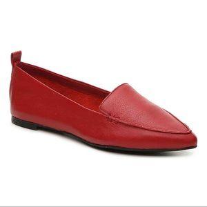 Aldo | Red Leather Galinsky Loafers